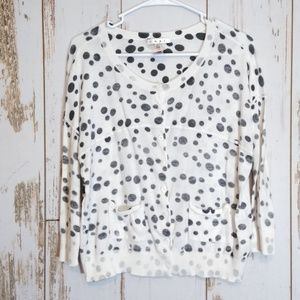 CAbi spotted cardigan